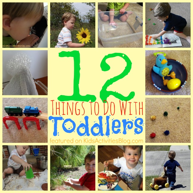 Over 12 Playful Things To Do With Toddlers And 40 Awesome