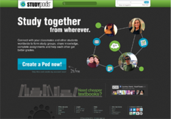 StudyPods Home Page