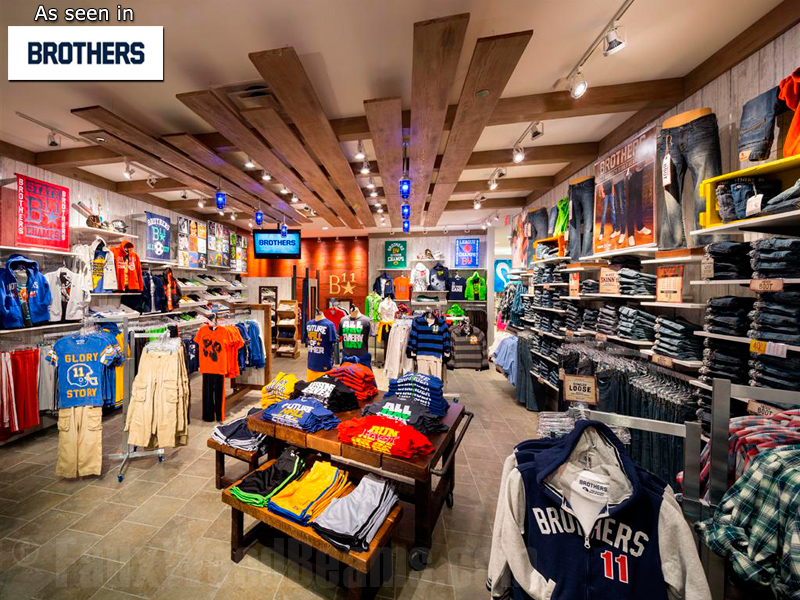 Barron designs pairs with idx for brothers retail store design - Small retail space collection ...