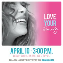 Romio &amp; Luxury Dentistry host an afternoon of pampering.