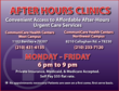 CommuniCare Health Centers Has New Urgent Care Clinic Services