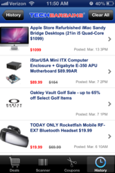 TechBargains Mobile App
