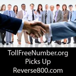 TollFreeNumber.org Picks Up Reverse800.com for 1.5-Million