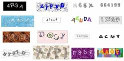Example Captchas (image source captcha.fr)
