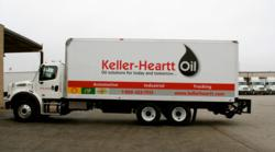 Keller-Heartt Oil newly equipped trucks deliver packaged oil products and bulk products all on the same load.