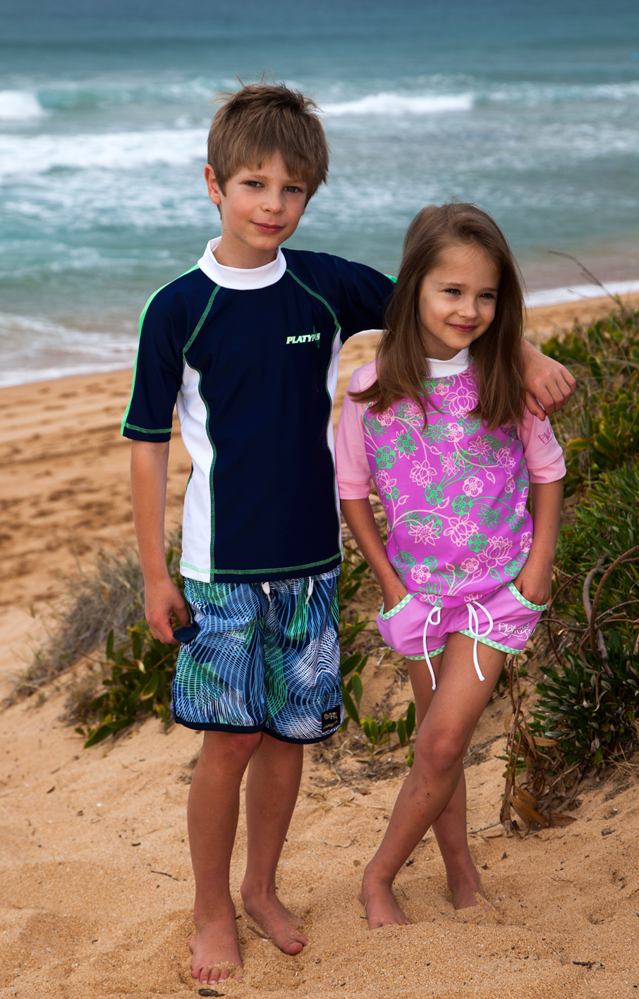 Uv Protective Children S Swimwear Is A Must For Parents To