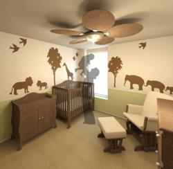 Arcbazar Baby Nursery Competition Design by C+P Design, Wisconsin, US