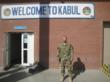 Captain James Van Thach in Kabul, Afghanistan