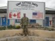 Captain James Van Thach at Camp Nathan Smith, Kandahar City, Afghanistan