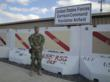 Captain James Van Thach at United States Forces Garrison Command, Kandahar Airfield, Afghanistan