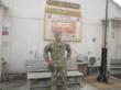 Captain James Van Thach at Camp Phoenix, Afghanistan