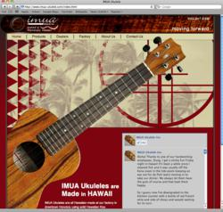 IMUA Ukuleles at Eagle Music Shop