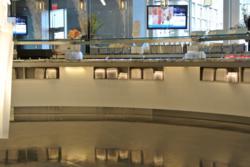 Designer Epoxy System in a Cafe