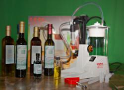 Small scale bottling equipment from The Olive Oil Source