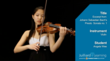 Juilliard eLearning student demonstration