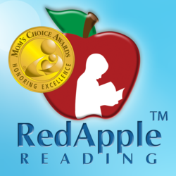 Red Apple Reading Logo - Mom's Choice