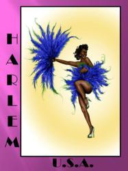 Harlem Gal Postcard