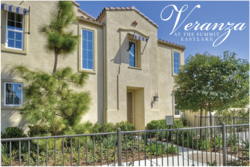 Exterior of Veranza Plan 3 Model Home