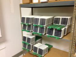 sCharger-5 on the Fastrak storage rack