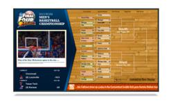 March Madness Digital Signage Template