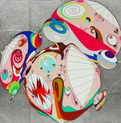Melting DOB Photograph by Takashi Murakami