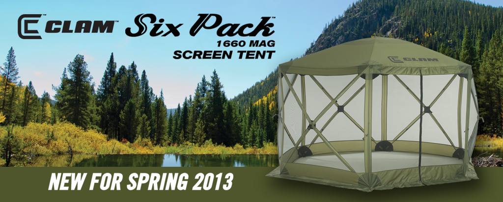 & CLAMu0027S New Six Pack Screen Tent Scores Big on Set Up and Quality