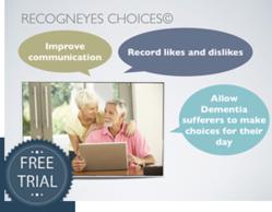 Free Trial of Recogneyes Choices Dementia App