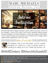 marc michaels interior design inc is hiring interns via