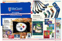 wincraft, catalog design, the blu group, advertising, marketing,
