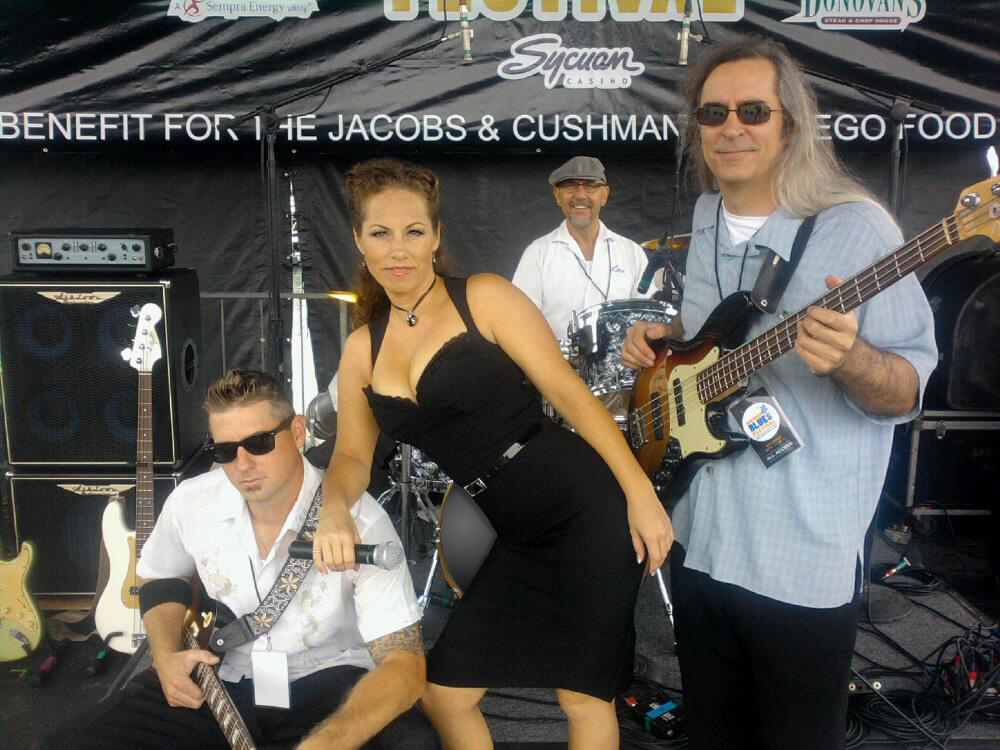 Mercedes Moore Band San Diego S Hottest Female Blues