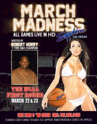 Sapphire, The World's Largest Gentlemen's Club, Hosts the Ultimate March Madness Party in Las Vegas