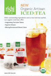 Iced Tea, Green Tea, Black Tea, Herbal Tea