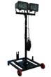 Larson Electronics Releases Portable Work Area Light Tower with Wheeled Base