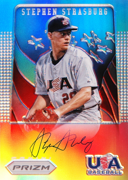 d0fd5d4b7 Panini America Inks Exclusive Autograph Agreement with Washington Nationals  Superstar Stephen Strasburg
