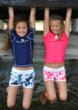Girls Swimwear and girls sun protection