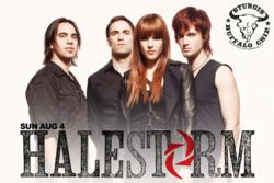 Halestorm to Play at Buffalo Chip Campground