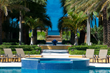 The Tuscany's 70 foot pool is one of the most beautiful pools on the island.