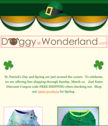 newsletter-example-from-doggy-in-wonderland