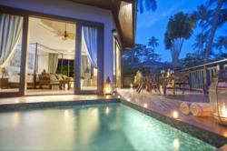 Sunset at AKARYN Samui Resort and Spa: Celebrate the 'Summer of Love' at the resort awarded the title of Best New Luxury Hotel at the World Luxury Hotel Awards 2012.