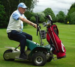 single seat golf buggy