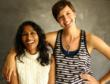 photo of Sandy Asirvatham and ellen cherry, coproducers of Mobtown Moon