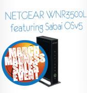 Sabai Technology NETGEAR WNR3500L WiFi VPN Router