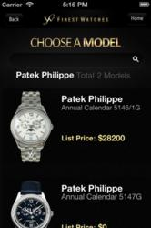 Finest Watches iPhone App