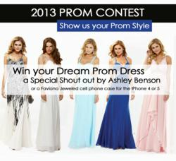 Prom dress contest by Faviana