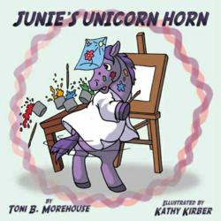 Junie is an enthusiastic, but slightly clumsy unicorn who discovers that horns can create lots of little problems at school.