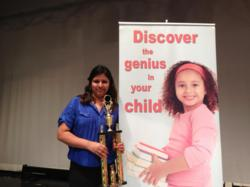 Ruchika Angras director of the new ALOHA Mind Math learning center in New Dorp, NY