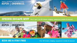 Stay Aspen Snowmass Spring Vacation Packages