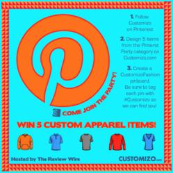 Customizo's Pinterest Party