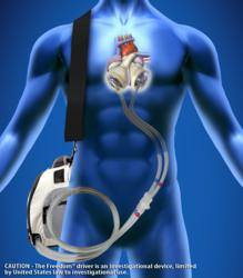 SynCardia, artificial heart, Total Artificial Heart, Freedom driver, donor heart, heart failure, heart transplant