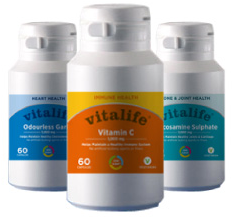 Vitalife Vitamins and Minerals